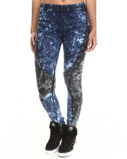 Jeggings  - Knit Insert Cloud Acid Jegging