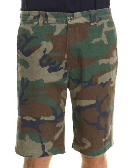 HUF Camo Twill Walk Shorts