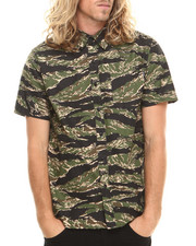 HUF - Camo Utility S/S Button-down