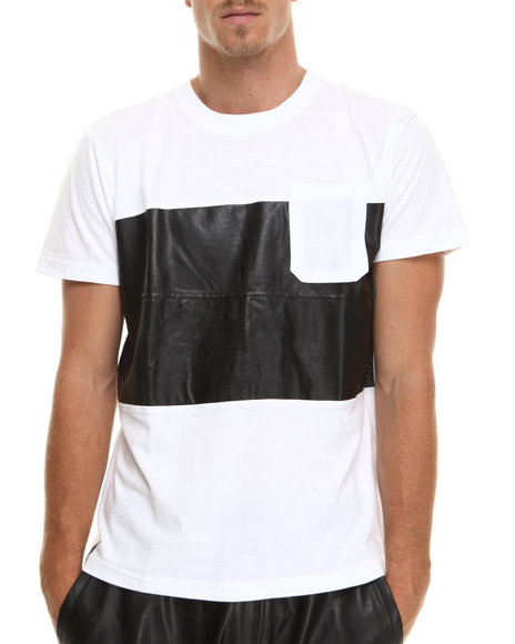 Enyce - Men White Eccosse's T-Shirt - $22.99