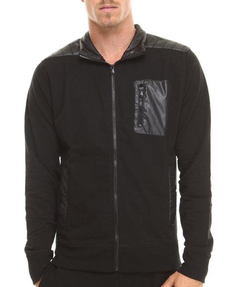 Enyce - Men Black City Track Jacket