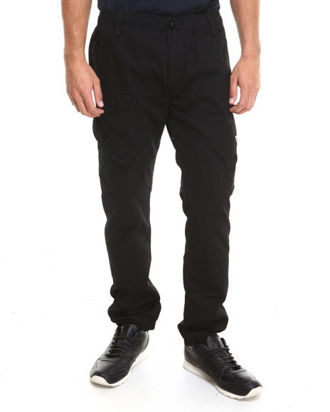 Enyce - Men Black Bushwick Cargo Pants
