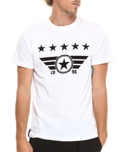 Enyce - Men White Luke T-Shirt - $22.00