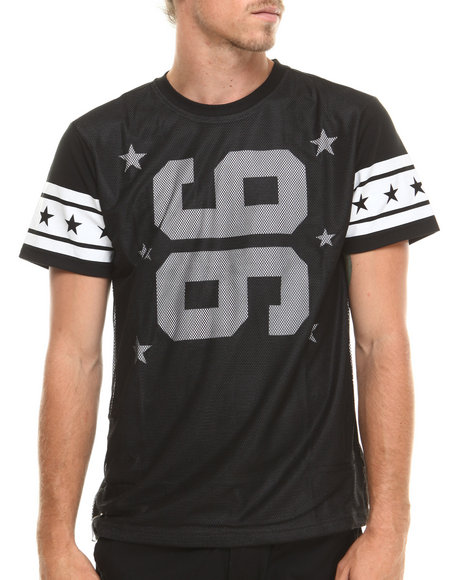 Enyce - Men Black Touchdown T-Shirt