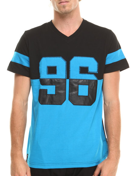 Enyce - Men Blue Safety V-Neck Jersey