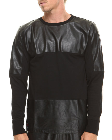 Enyce - Men Black Speedy L/S T-Shirt