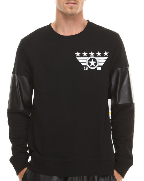 Enyce - Men Black E-Force Sweatshirt - $21.99