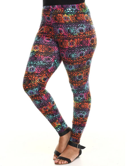 ALI & KRIS Multi Lonny Printed Leggings (Plus Size)