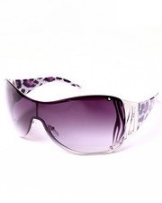 DRJ Sunglasses Shoppe - Serengeti Leopard Arm Shield Sunglasses
