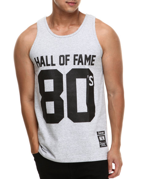 Hall of Fame Grey 80'S Tank