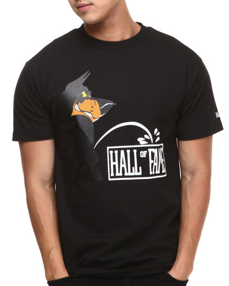 Hall of Fame Black Calvin Tee