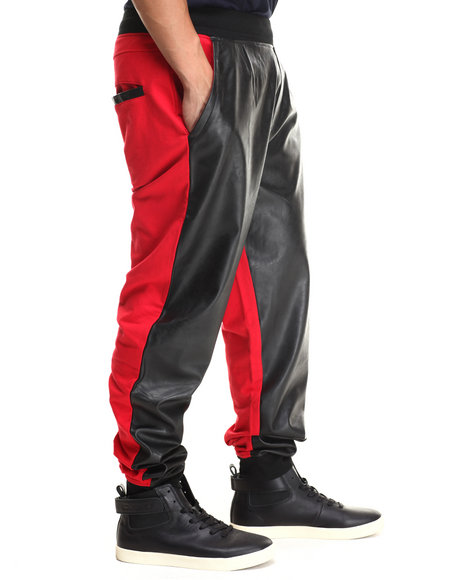 Enyce - Men Black,Red Montana Joggers