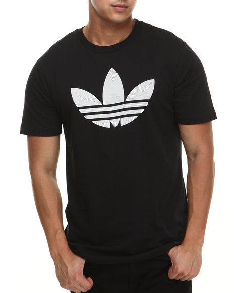 Adidas Black Museum Pop Logo Fill Tee