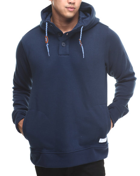 Adidas - Men Navy Gonz Pullover Hoodie