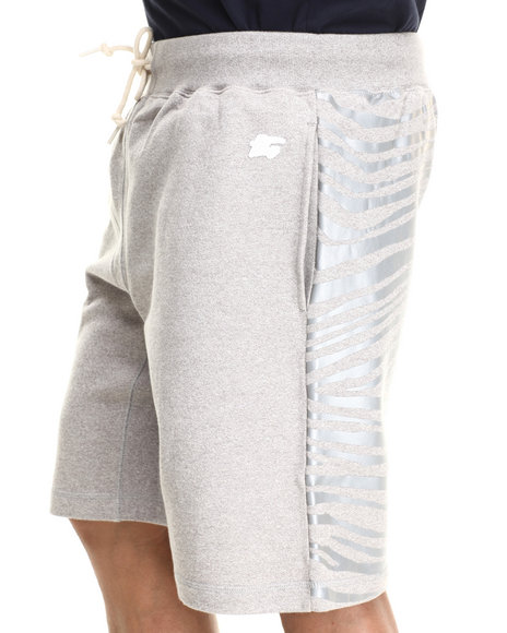 Hall of Fame Grey Tiger Tech Shorts