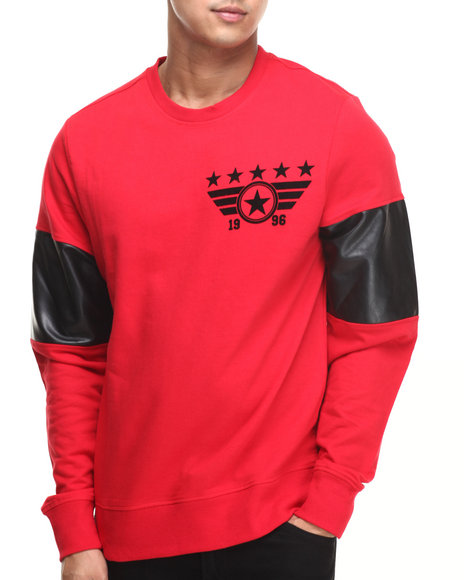 Enyce - Men Red E-Force Sweatshirt