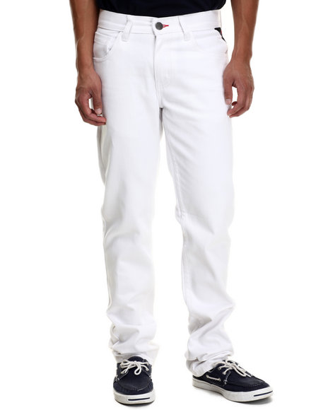 Enyce - Men White New Tradition Twill Pants - $44.00