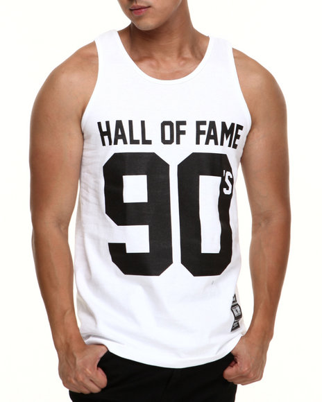 Hall of Fame White 90'S Tank