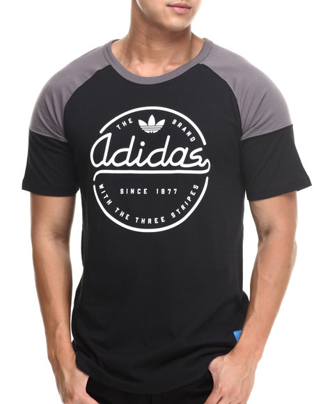Adidas Black Industrious Tee