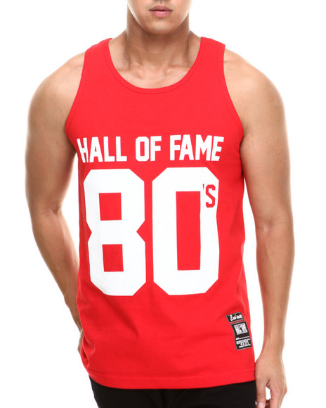 Hall of Fame Red 80'S Tank