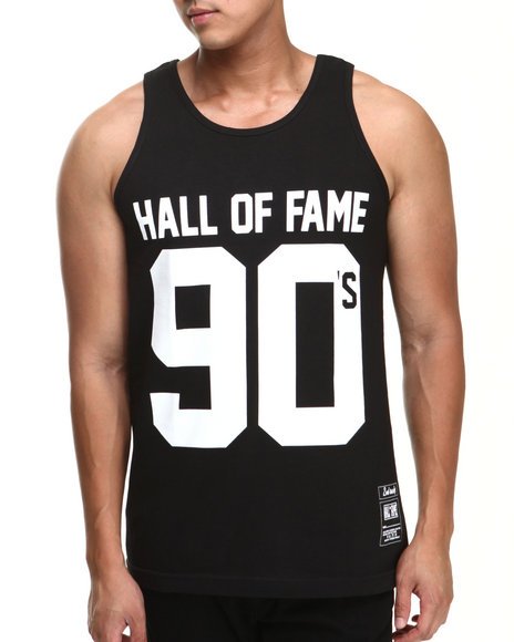 Hall of Fame Black 90'S Tank