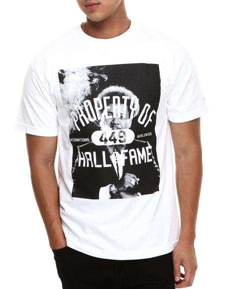 Hall of Fame White Knockout 10.0 Tee