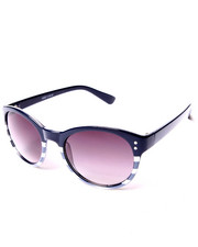 DRJ Sunglasses Shoppe - Malibu Nautical Stripe Sunglasses
