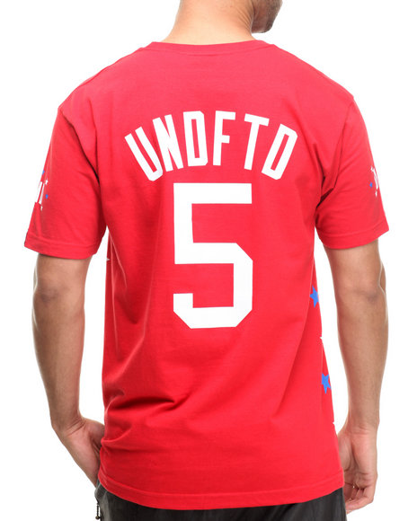 UNDFTD Red Global Tee