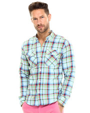 Shirts - Candy Plaid Buttondown