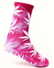 The Skate Shop - Tie Dye Plantlife Crew Socks