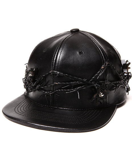 Paislee Barb Wire Hat Black