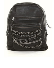 Handbags - Domino Backpack with Chains