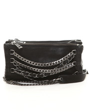 Crossbody - Domino Crossbody Bag with Chains