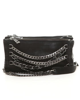 ASH - Domino Crossbody Bag with Chains