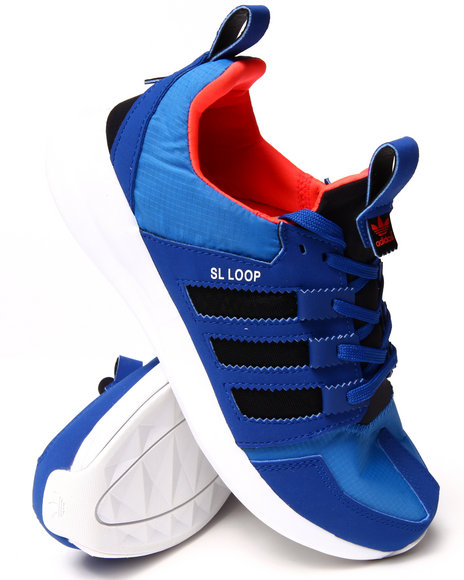 Adidas - Men Blue Sl Loop Runner Sneakers