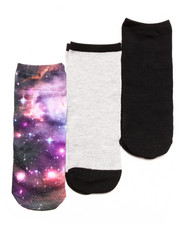 Women - NO SHOW GALAXY 3-PACK