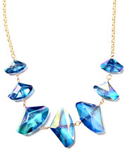 Women - Blue Stones Necklace