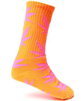 HUF - Glow In The Dark Plantlife Crew Socks