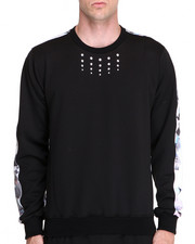 DJP OUTLET - KEENKEEE 20 Crystal Sweatshirt w/ Crystal Print Back Panel