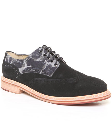 Djp Outlet - Men Black Jd Fisk Caldwell Oxford