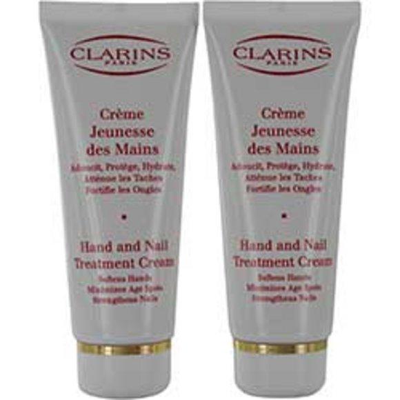 Clarins Women Clarins Hand & Nail Treatment Cream Duo 2X100ml/3.4Oz --