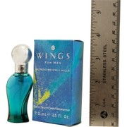 Men - WINGS EDT SPRAY .25 OZ MINI