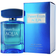 Men - PERRY ELLIS AQUA EDT SPRAY 3.4 OZ