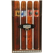 Men - CUBA VARIETY 4 PIECE VARIETY WITH CUBA GOLD, BLUE, RED & ORANGE & ALL ARE EDT SPRAY 1.17 OZ