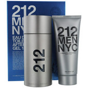Men - 212 EDT SPRAY 3.4 OZ & AFTERSHAVE GEL 3.4 OZ