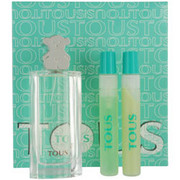 Women - TOUS EDT SPRAY 1.7 OZ & BODY LOTION .5 OZ & SHOWER GEL .5 OZ