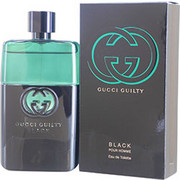 Men - GUCCI GUILTY BLACK POUR HOMME EDT SPRAY 3 OZ