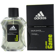 Men - ADIDAS PURE GAME EDT SPRAY 3.4 OZ (DEVELOPED WITH ATHLETES)