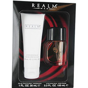Men - REALM COLOGNE SPRAY 1 OZ & AFTERSHAVE BALM 3.3 OZ