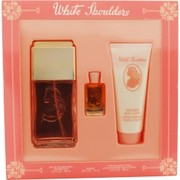 Women - WHITE SHOULDERS EAU DE COLOGNE SPRAY 4.5 OZ & BODY LOTION 3.3 OZ & PARFUM .25 OZ MINI